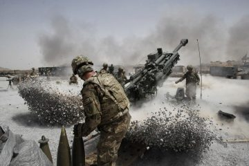 Powerful M777 Howitzer