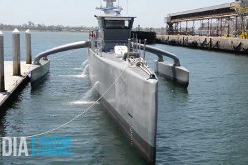 Anti Submarine Drone Ship