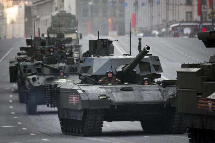 Russian T14 Armata
