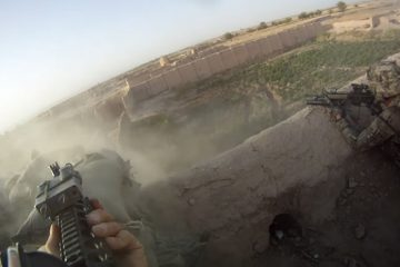 Soldier Films Sustained Taliban Attack on Helmet Cam