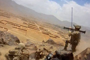 US Soldiers Fire Rockets and Machine Guns at Taliban In Afghanistan