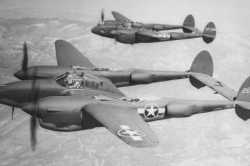 U.S. P-38 Lightnings