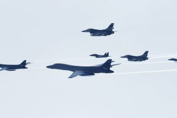 Air Force B-1 Bombers