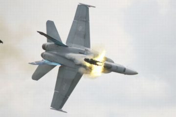 Fighter Jets Crashes Caught on Video Camera