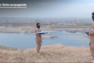 weaponised UAVs in the Middle East