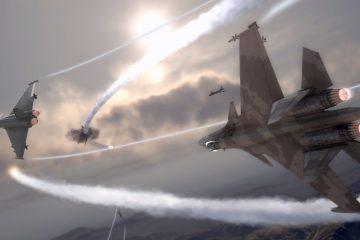 F22 Raptor DogFight Scena
