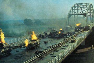 a bridge too far battle on the bridge scene