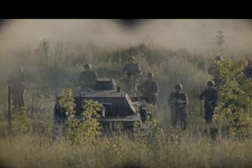 German Tank Scene
