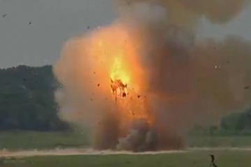 Tank-Explosion
