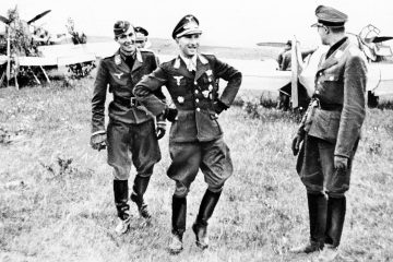 Top 10 Luftwaffe Fighter Aces from WW2
