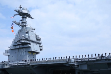 U.S. Navy's Newest Supercarrier