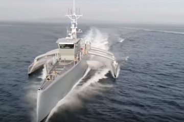 US Navy's new drone warship