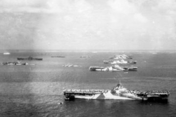 Aircraft carriers of Task Force 58