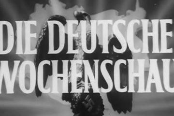 Original Die Deutsche Wochenschau Newsreel from (1944)