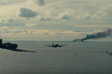 Dunkirk Heinkel Bomber Attack