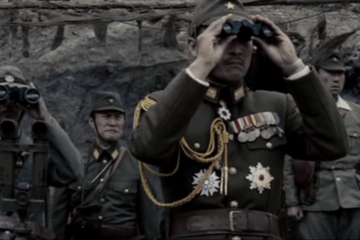 Iwo Jima first scene