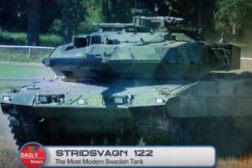 Stridsvagn 122 : The Most Modern Swedish Tank