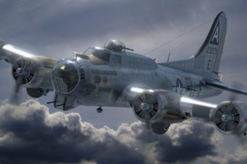 U.S. 22nd Bomb Group is Attacked from the Tuskegee Airmen