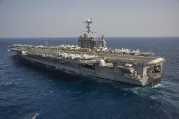 U.S. Navy Aircraft Carrier