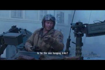 Urban Warfare Scene from the Movie Fury