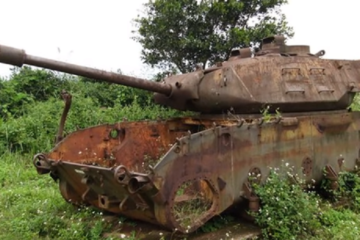 Vietnam War - Abandoned Tanks
