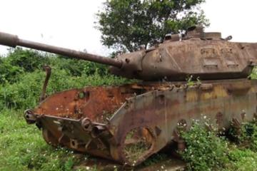Vietnam War - Abandoned Tanks
