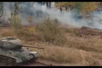 massive tank attack