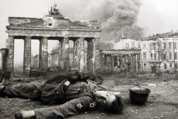 The Fall of Berlin in 1945