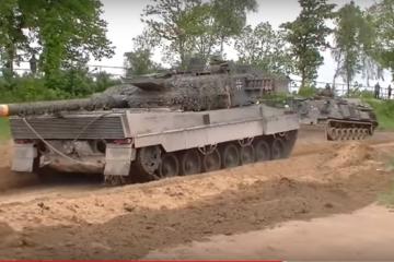 BundesWehr Tanks