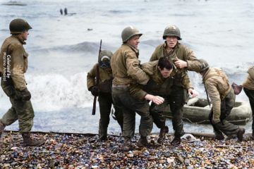 Rare WW2 Color Footage from D-Day : June 5th 1944