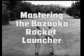 Mastering the Bazooka Rocket Launcher - 1943