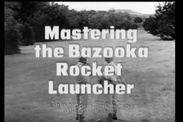 Mastering the Bazooka Rocket Launcher - 1943