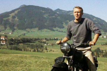War Movie Scene: Motorcycle Scene- The Great Escape