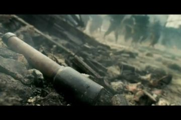 War Movie Scene: Sniper Scene from the Flowers of War
