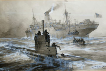 WWll in Colour-1941 German U-Boat Campaign against the U.S