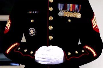 Marine Sentries - Inside the White House
