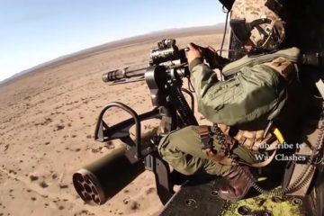 Afghanistan War - Helicopter Door Gunners Hunt & Shoot