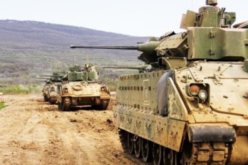 Bradley Armoured Vehicles