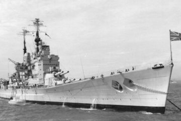 HMS Vanguard - Britain's Last Battleship