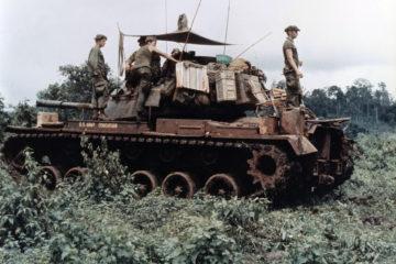 Tank Battle Vietnam - Ben Het 1969