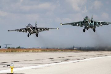 Russian Airbase launching Syria Strikes
