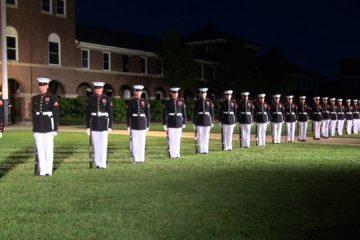 United States Marine Corps Silent Drill Platoon 2013
