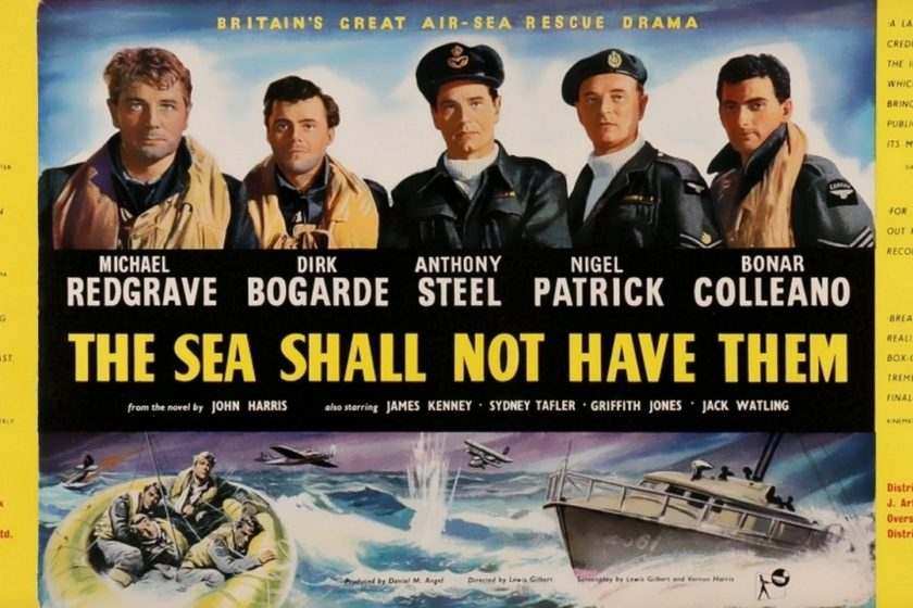 War Movie : The Sea shall not have them – 1953 ( Full Movie )
