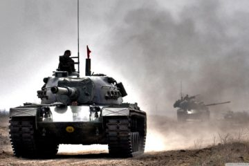 Turkish Armed Forces The Patton M48A5T2 main Battle Tank