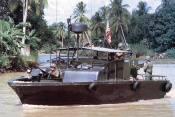 U.S. Navy Riverine Operations in the Vietnam War 1960s
