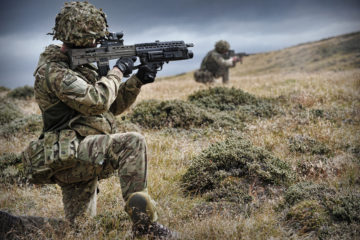 UK Forces In The Falklands
