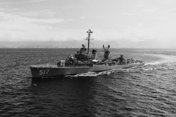 Fletcher Class Destroyer 1952