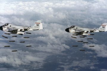 U.S. AIR FORCE AIR STRIKES IN NORTH VIETNAM in 1966 BOMBING OF HANOI 23384