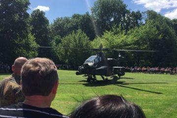 Apache Landung Bundeswehrtag 2017 in Hürth