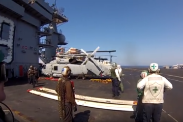 Over 100mph to ZERO in Seconds - Carrier Aircraft Recovery Operations